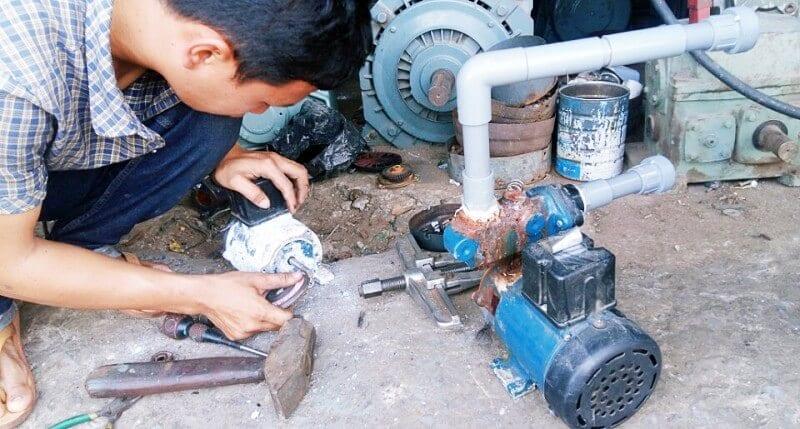 Dịch vụ thợ sửa máy bơm nước nhanh tại nhà