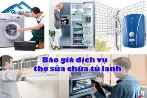 Báo giá dịch vụ thợ sửa chữa tủ lạnh