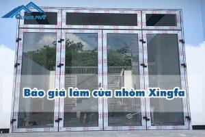 Báo giá làm cửa nhôm Xingfa