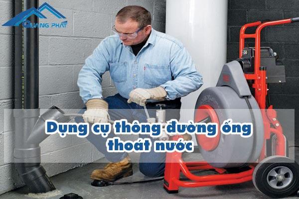 Dụng cụ thông đường ống thoát nước