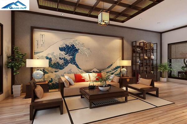 Thiết kế phòng mang phong cách Nhật Bản