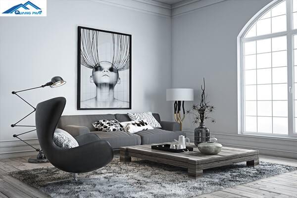 Phòng khách đẹp hiện đại và trang nhã