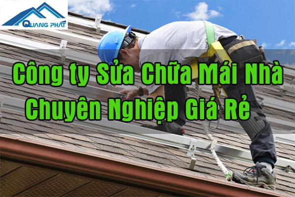 Sửa mái nhà