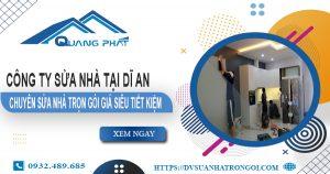 Công ty sửa nhà tại Dĩ An - Chuyên sửa nhà trọn gói giá siêu tiết kiệm