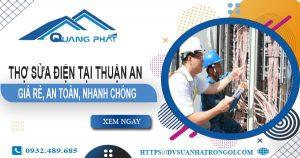 Thợ sửa điện tại Thuận An