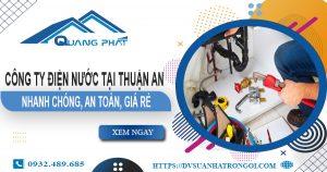 Công ty điện nước tại Thuận An